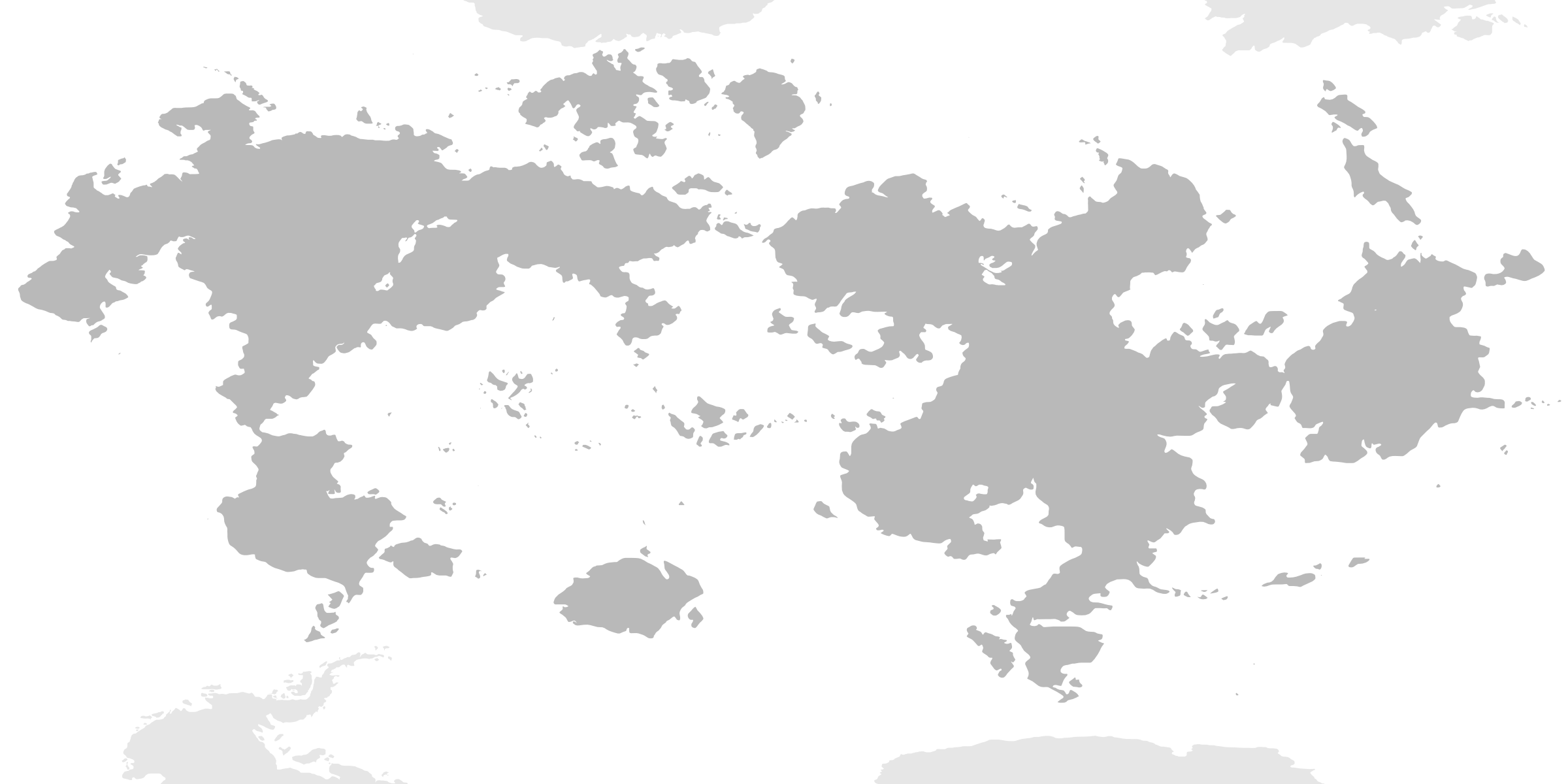 World Map Blank Without Borders. Blank World Maps  Trooper
